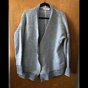 Sleeping on Snow open front waffle cardigan XS/S